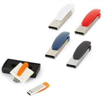 8 GB Metal Plastİk USB Bellek